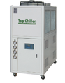 industrial  portable oil cooling chiller unit for lubrication oil